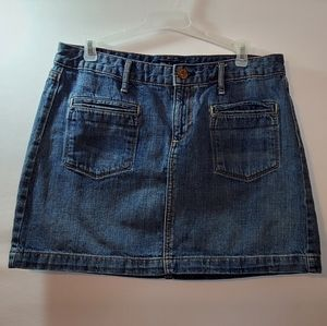 ***3 for $15 Gap Jeans Mini Skirt Sz 8